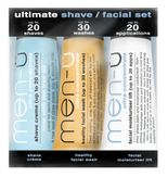 men-� - 3 x 15 ml - Ultimate Shave / Facial Set - Gesichtspflegeset - Travel