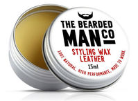 The Bearded Man Company - Moustache Wax Leather - Bartwachs